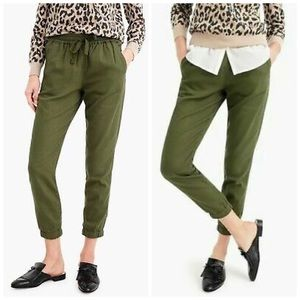 J. Crew Point Sur Seaside Joggers Twill Size 8